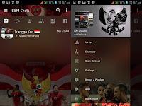 Download Kumpulan BBM MOD Tema Sepakbola Apk For Android Terbaru