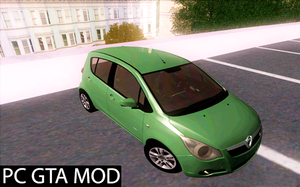 Free Download  2011 Vauxhall Agila  Mod for GTA San Andreas.