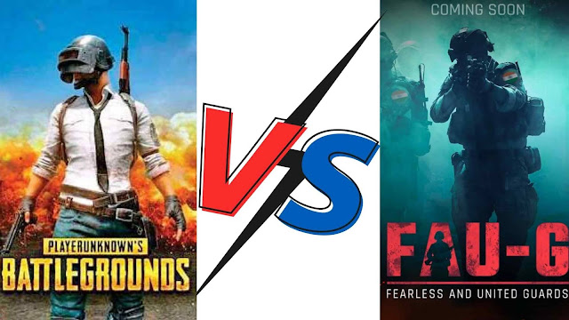 Pubg Mobile Vs FAU-G Game