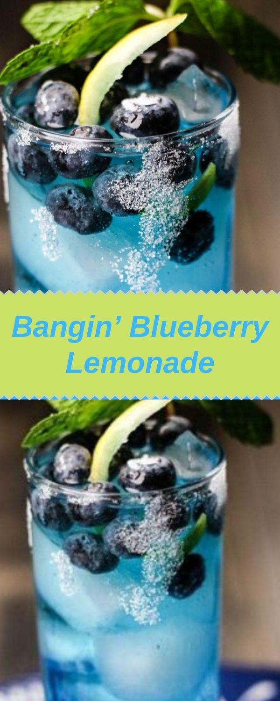 Bangin' Blueberry Lemonade