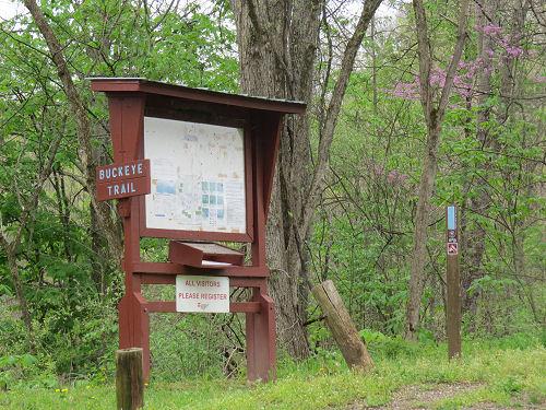 Buckeye Trail kiosk