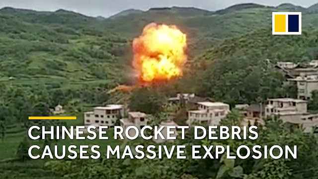 chinese rocket failure