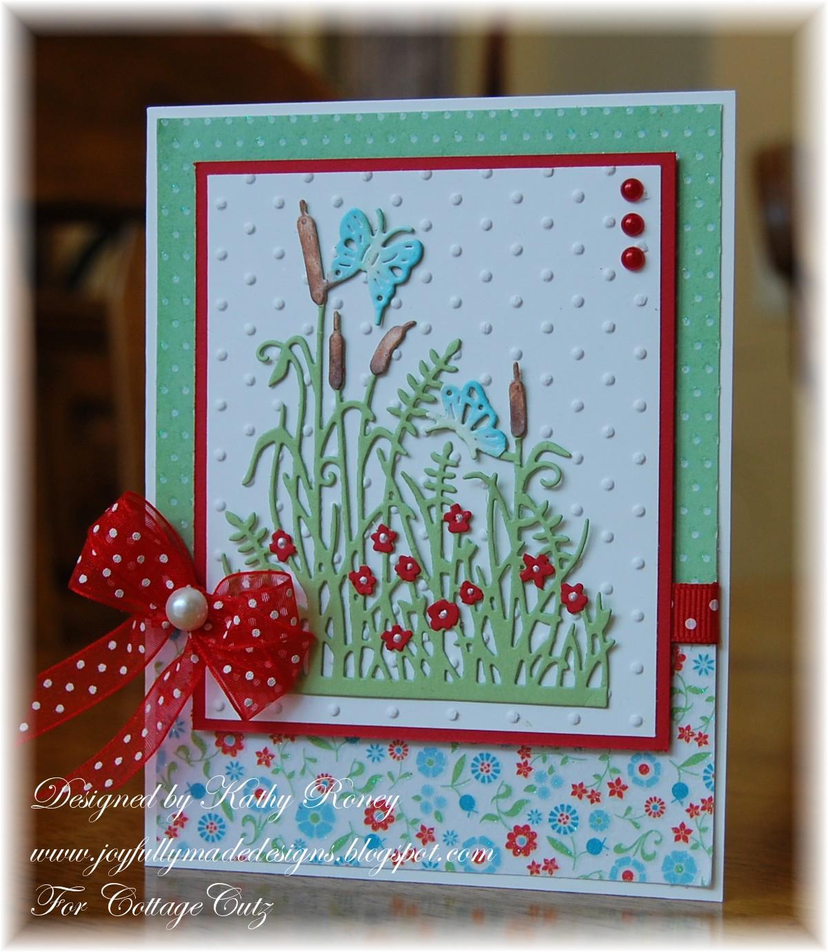 CottageBLOG: Fancy Cattails & Butterflies