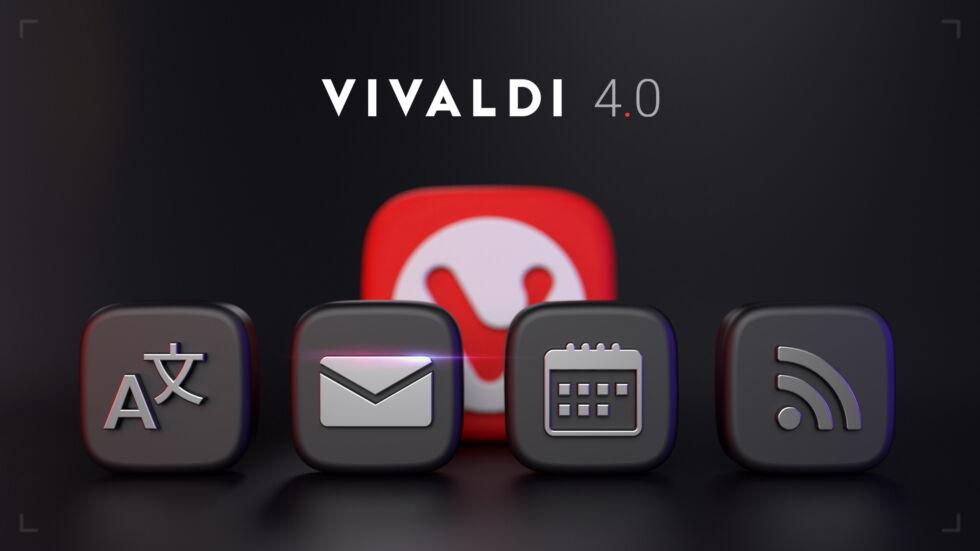 Vivaldi browser ottiene un Big Update con la versione 4.0