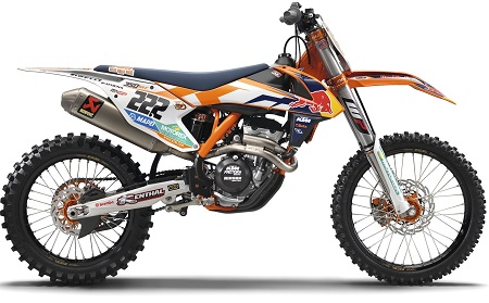 Modifikasi motor trail ktm 250 cc