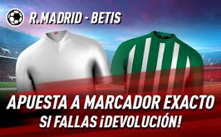 sportium promo Real Madrid vs Betis 24-4-2021