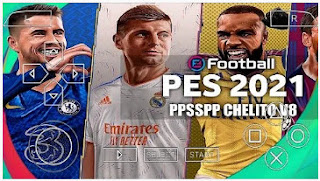 Download PES 2021 PPSSPP New Refree Face Update TATTOO Chelito V8 & Latest Transfer