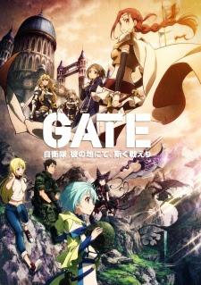 Gate Jieitai Kanochi nite Kaku Tatakaeri BD S1 Subtitle Indonesia Batch Episode 01-12