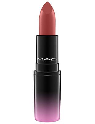 MAC Love Me Lipstick Plums Bated Breath