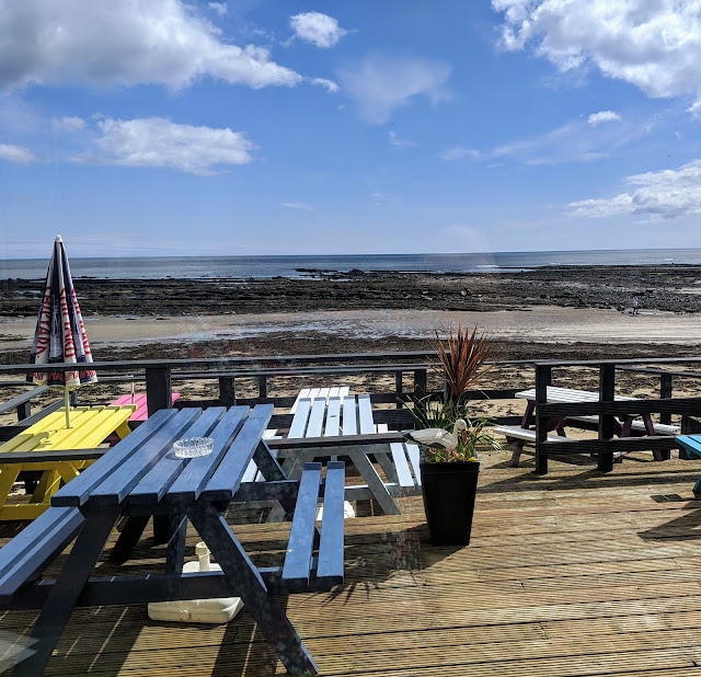 The Seaview Restaurant at The Fishing Boat Inn, Boulmer : A Review