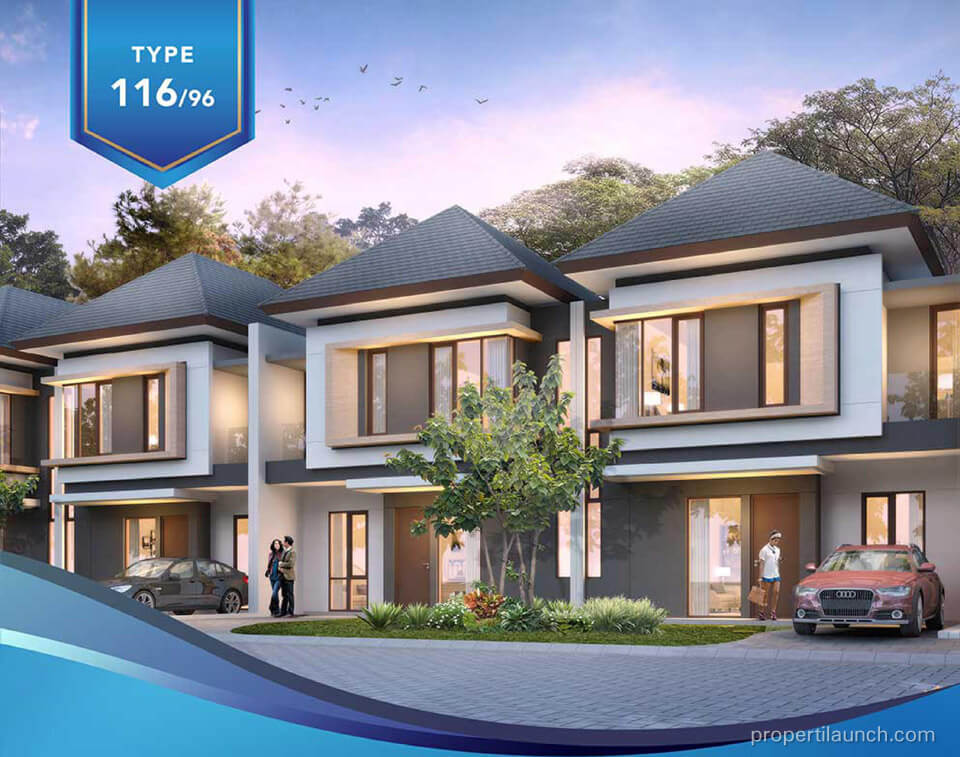 Rumah Amata Mozia BSD Tipe 135