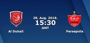 اون لاين مشاهدة مباراة الدحيل وبیرسبولیس بث مباشر 28-08-2018 دوري ابطال اسيا اليوم بدون تقطيع