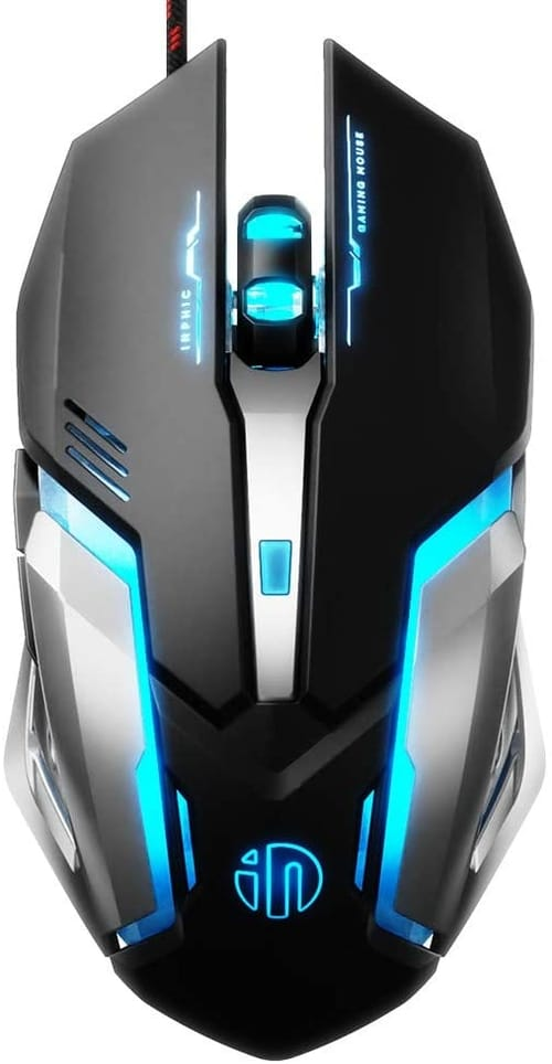 Review Inphic Quiet Gaming Mouse for PC Laptop
