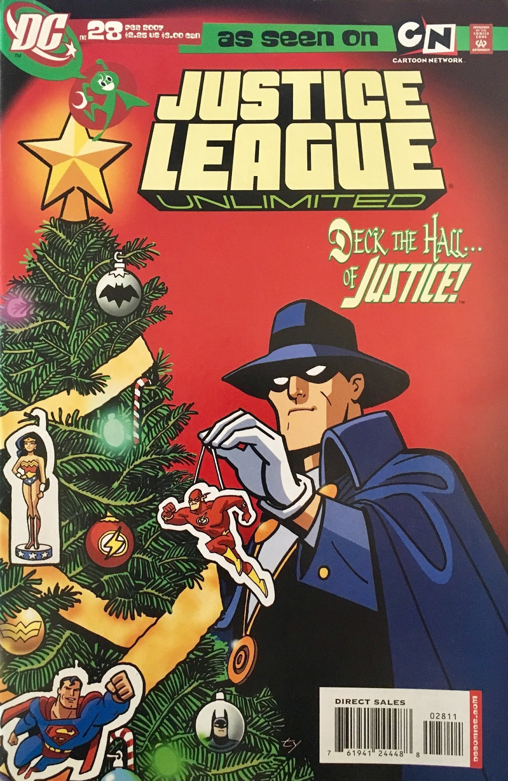 Chris is on Infinite Earths: Justice League Unlimited #28 (2007)