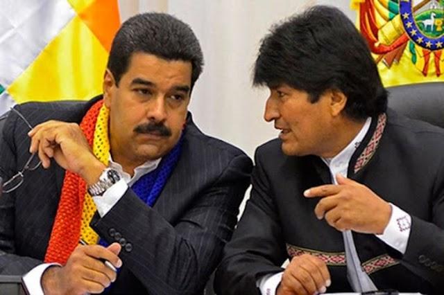 Maduro habló de visita relámpago de Evo Morales a Venezuela