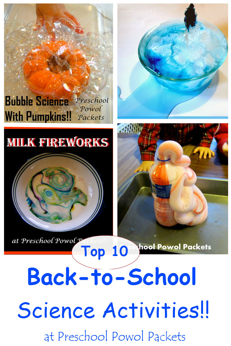 Top 10 Back to School Science Experiments and Activities
