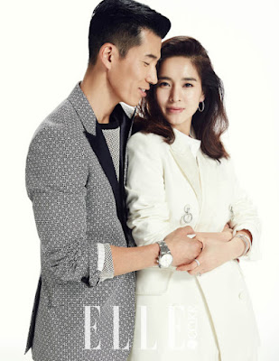 Jung Hye Young and Sean - Elle Magazine March 2016