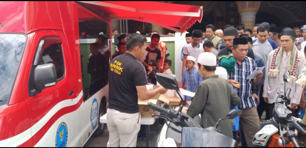Tim Penyuluh BNNK Tana Toraja Buat Games Menarik, Tolak Narkoba