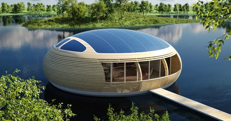 Waternest 100 beautiful floating house design by for World no 1 beautiful house