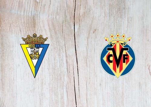 Cádiz vs Villarreal -Highlights 25 October 2020