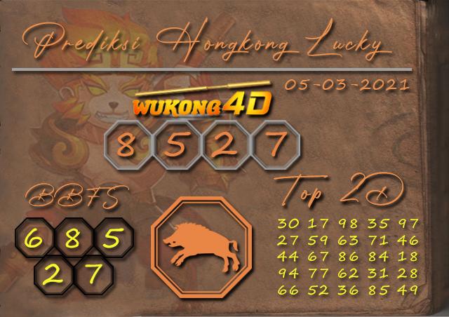 PREDIKSI TOGEL HONGKONG LUCKY 7 WUKONG4D 05 MARET 2021