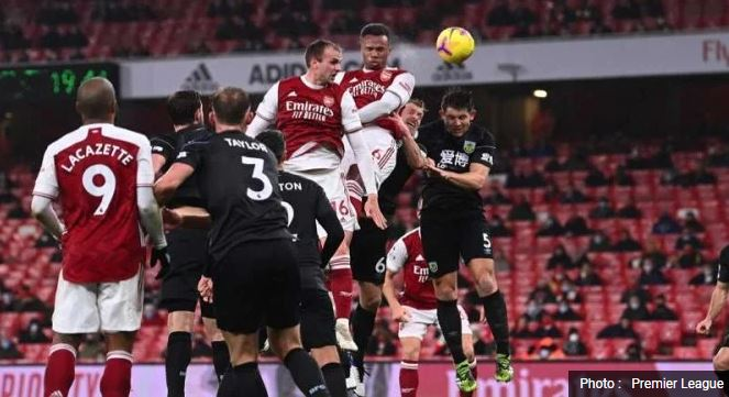 Arsenal vs Burnley 0–1 Highlights