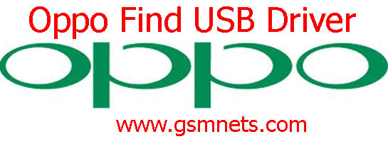 Oppo Find USB Driver Download
