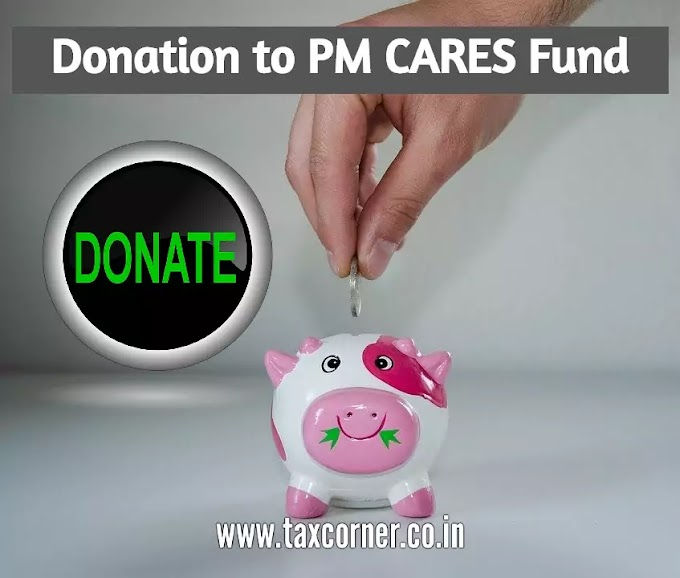 Donation to PM CARES Fund to fight COVID-19