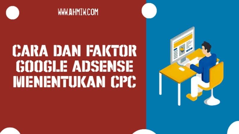 Google AdSense Menentukan CPC