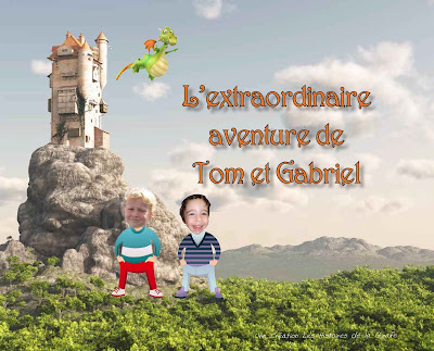 votre enfant et son ami vivent une grande aventure
