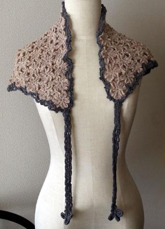 手編みショール