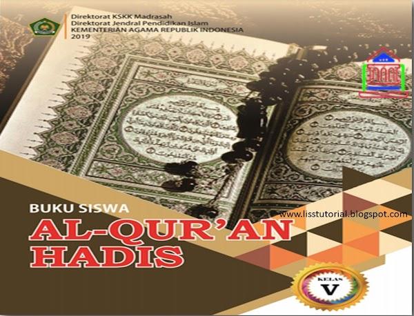 Download Buku Al-Qur'an Hadis Kelas 5 MI Kurikulum 2013 Edisi Revisi 2019