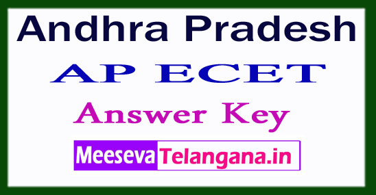 AP ECET Answer Key 2017 Rank Card