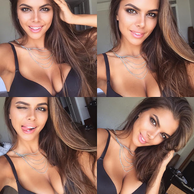 Russian Model Viki Odintcova Hot Instagram Selfie