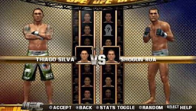 Download Game UFC Undisputed 2010 PPSSPP Iso Battle Free Fight