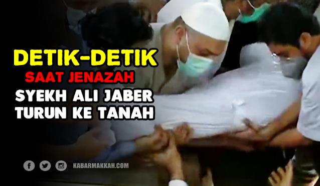 Semua Mata Menangis, Lihat Video Detik-detik Jenazah Syekh Ali Jaber Saat Mau Dikubur