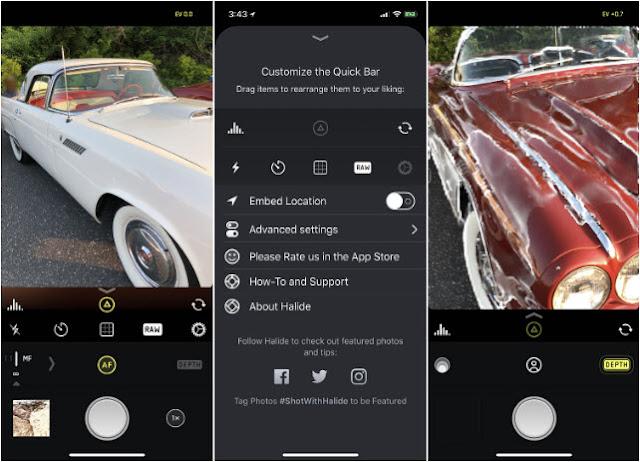 Halide Aplikasi Kamera iPhone Terbaik Patut Dicoba