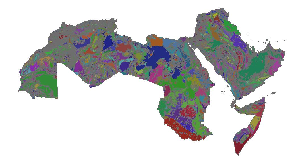 Download Shapefile Geological map of The Arab World - GIS
