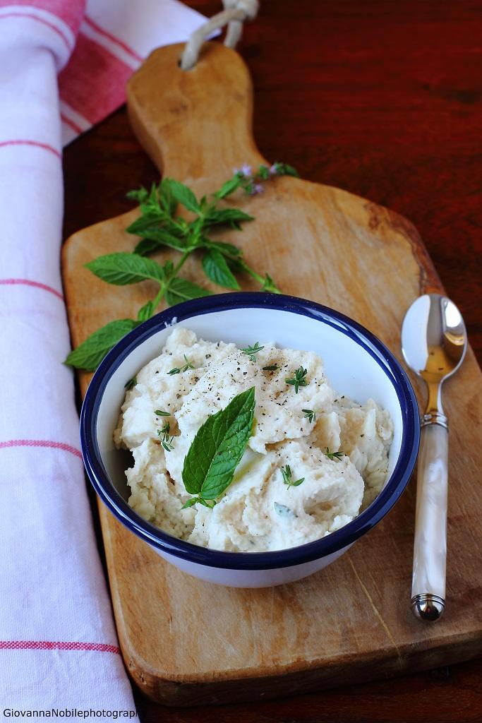 Hummus di fagioli cannellini di Colfiorito