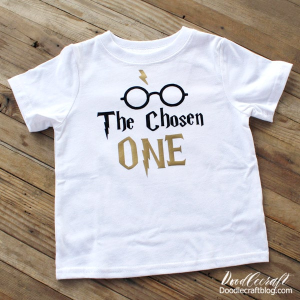 Let the iron-on cool down completely and then remove the carrier sheets. The shirt is now ready to wear! I love how easy it is to customize a tee shirt--they make the perfect gifts!