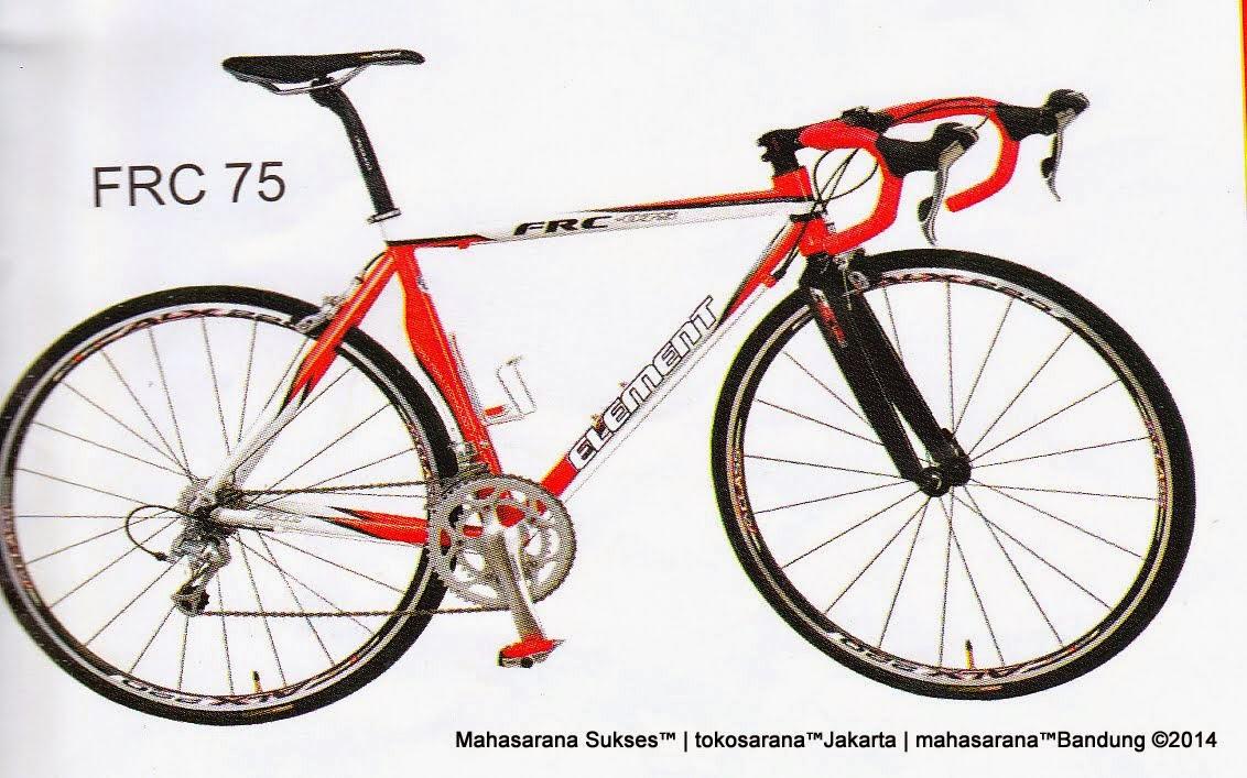 Sepeda Balap Element FRC75 Rangka Aloi 18 Speed Shimano 2200 700C