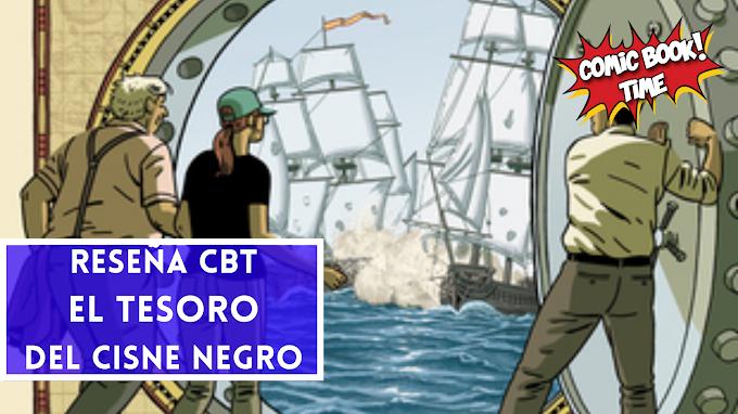"""Cómic Reseña: """"El tesoro del Cisne Negro"""", de Paco Roca y Guillermo Corral"""