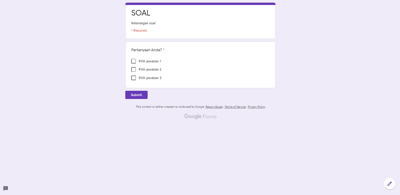 Google-Forms-Preview