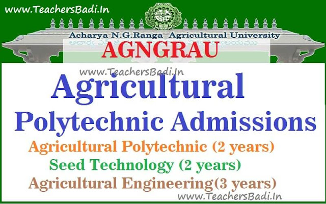 AGNGRAU,Agricultural Polytechnic Admissions,application form