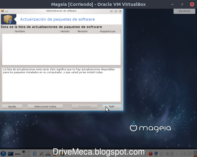 Drivemeca instalando Mageia Linux paso a paso