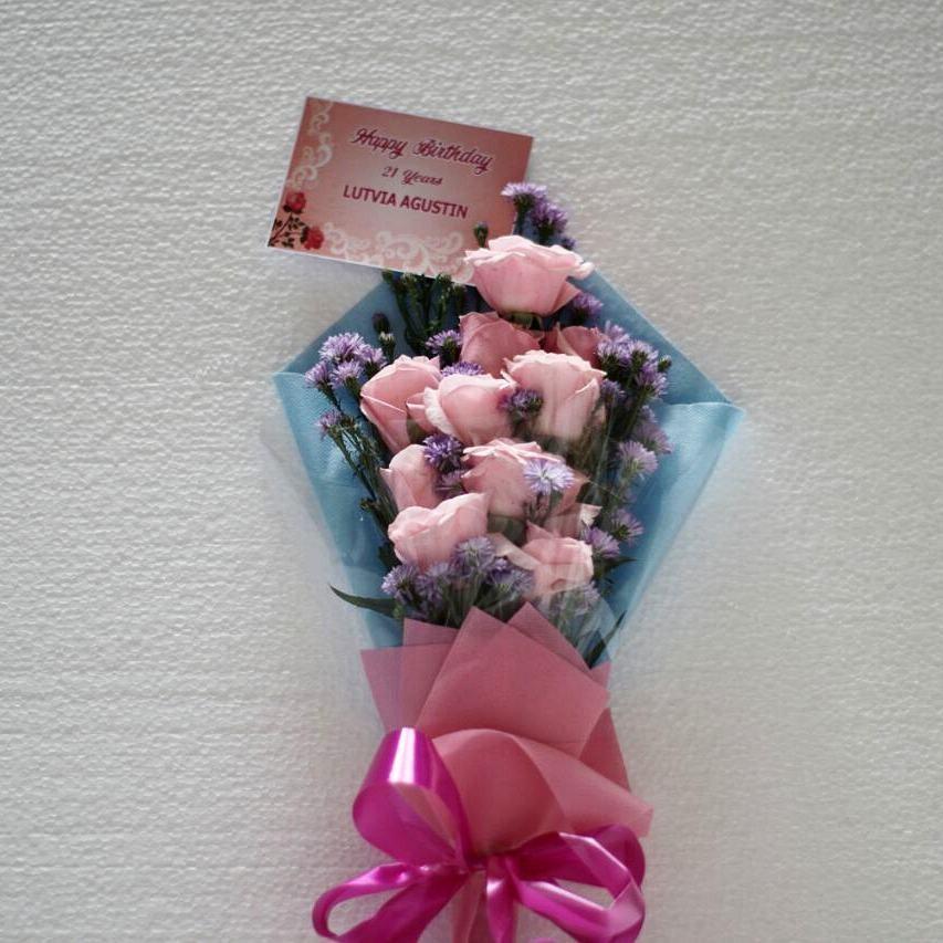 Karangan Bunga Tangan Hand Bouquet 025
