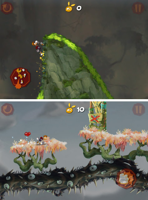 Game Rayman Jungle Run Apk + Data Mod Everything Unlocked