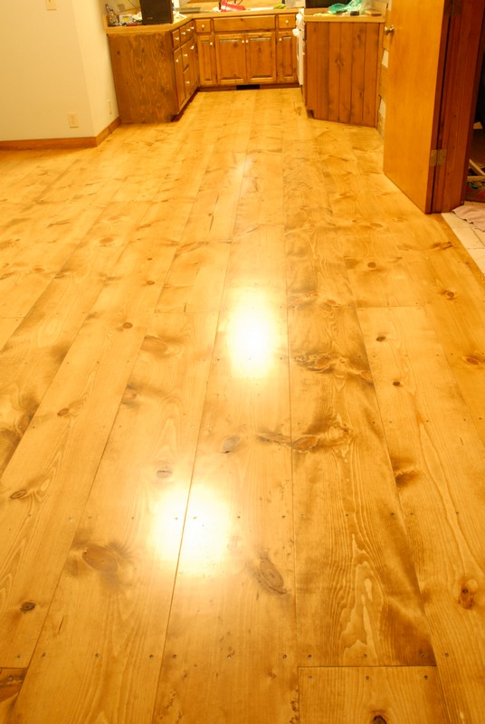 DIY Wide Plank Pine Floors Finishing | Finish Top Coats | Bona Mega