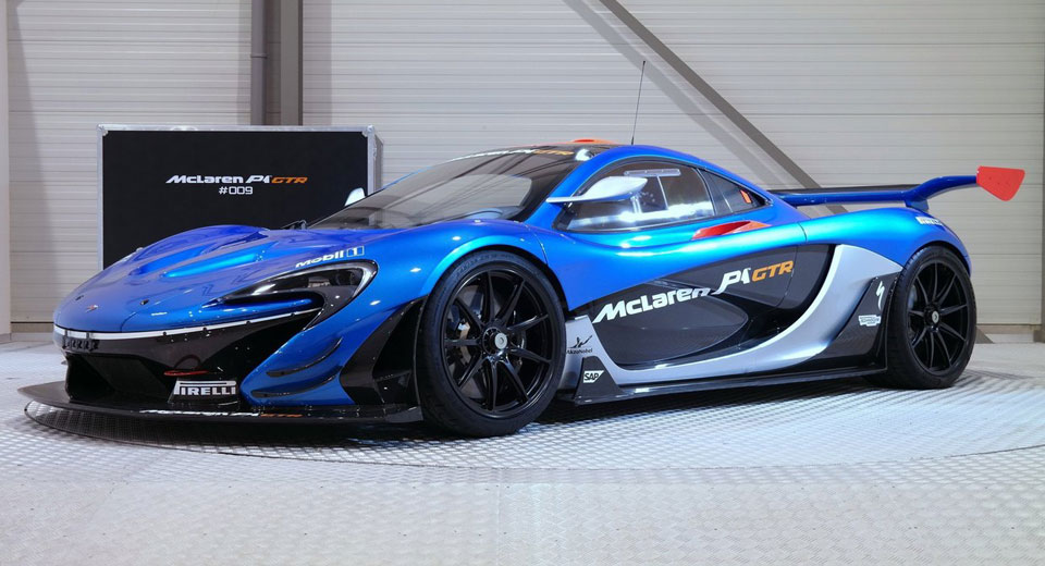 2018 mclaren p1 price. fine mclaren beautiful bright blue roadlegal mclaren p1 gtr for sale inside 2018 mclaren p1 price