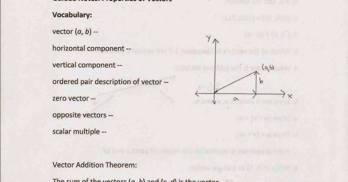 Geometry, Common Core Style: Section 14-6: Properties of